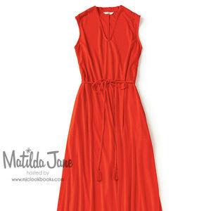 New! MATILDA JANE Women L In the Breeze Maxi Dress